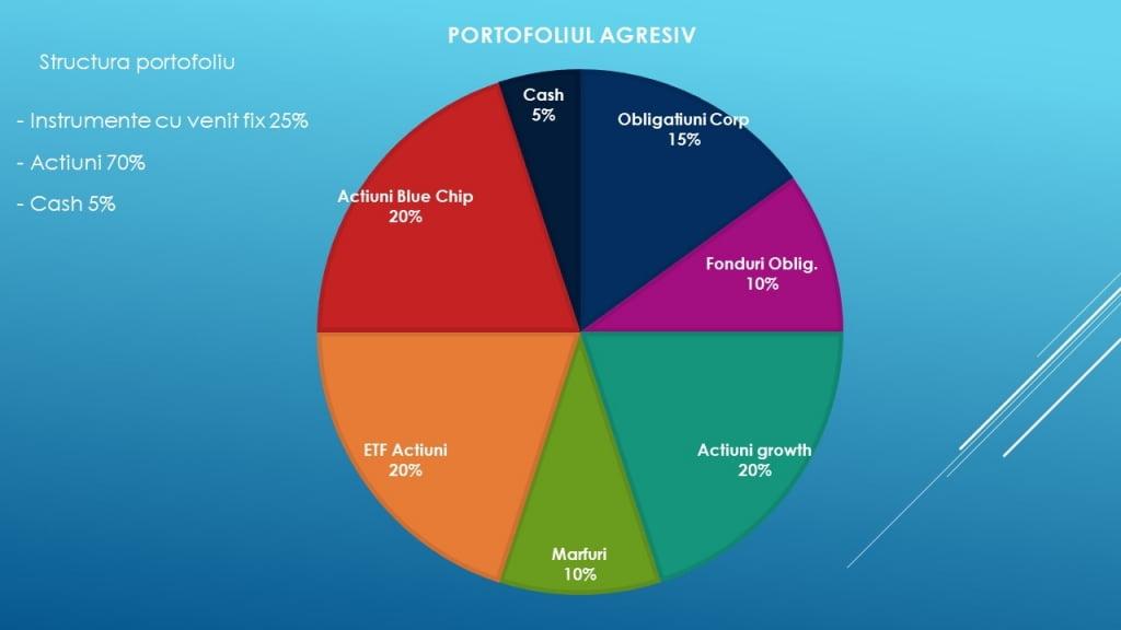 Portofoliu de investitii agresiv