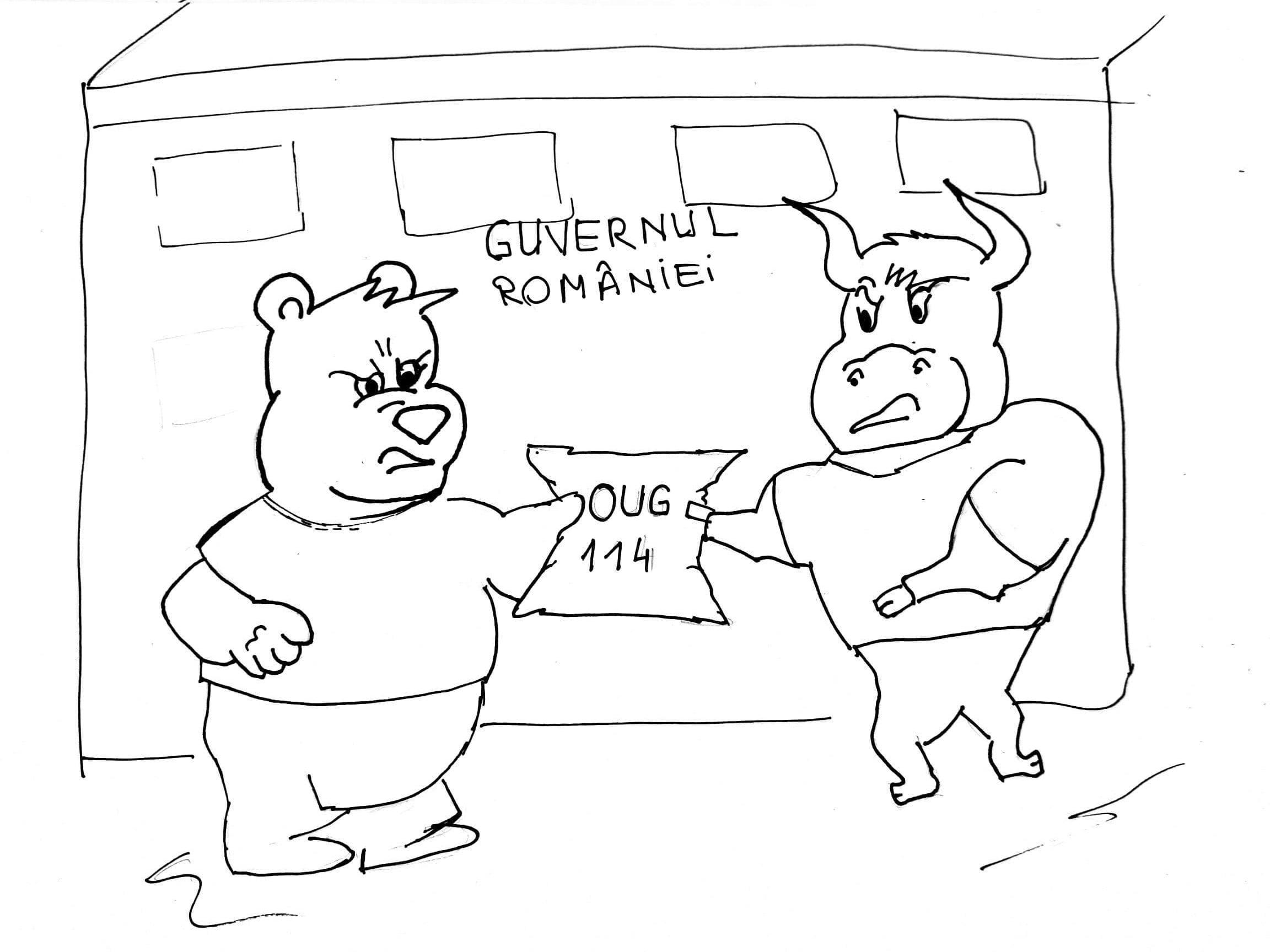 Bursa de Valori Bucuresti si OUG 114