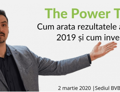 Eveniment The Power Table – Cum arata rezultatele anuale pe 2019 și cum investim