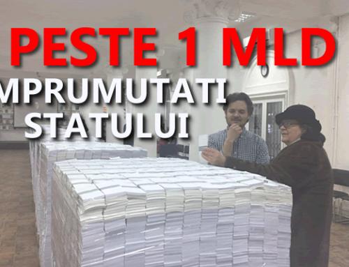 Romanii au imprumutat statul cu peste 1 miliard de lei – de ce sa investesti in titluri de stat
