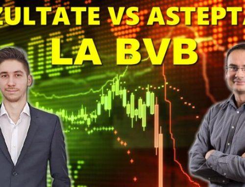 Rezultate vs Asteptari la BVB dupa rezultatele pe T1 2021